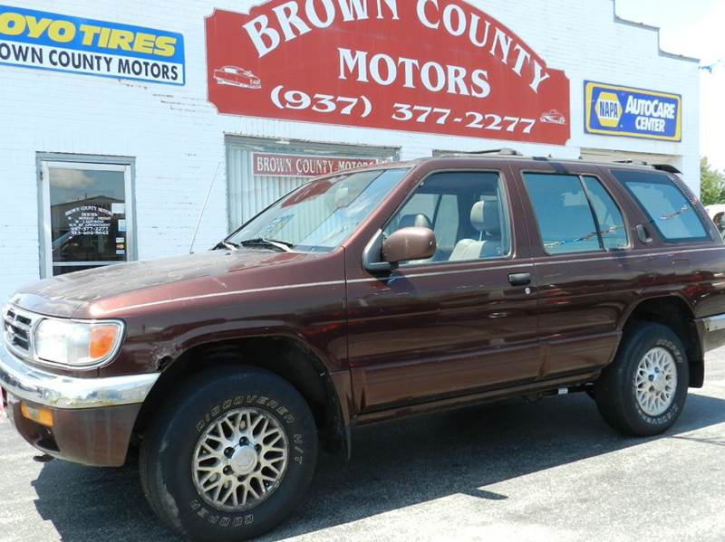 1997 nissan pathfinder for sale in russellville oh for Brown county motors russellville ohio