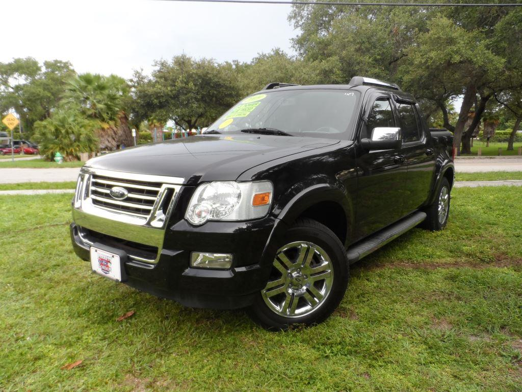 2009 ford explorer sport trac for sale in hollywood fl. Black Bedroom Furniture Sets. Home Design Ideas