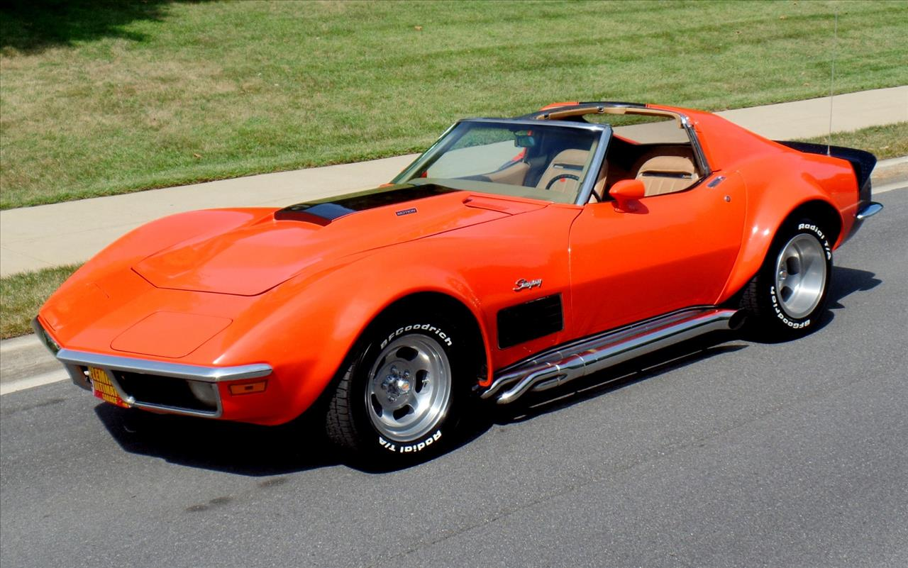 House With 3 Car Garage 1970 Chevrolet Corvette For Sale In Rockville Md