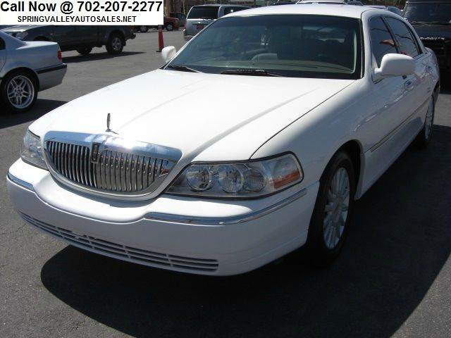 2005 lincoln town car for sale in las vegas nv. Black Bedroom Furniture Sets. Home Design Ideas