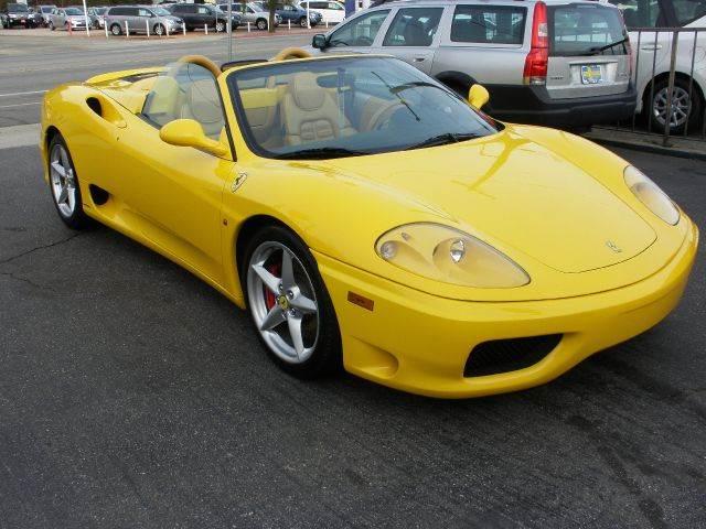 2002 ferrari 360 spider for sale in la crescenta ca. Cars Review. Best American Auto & Cars Review