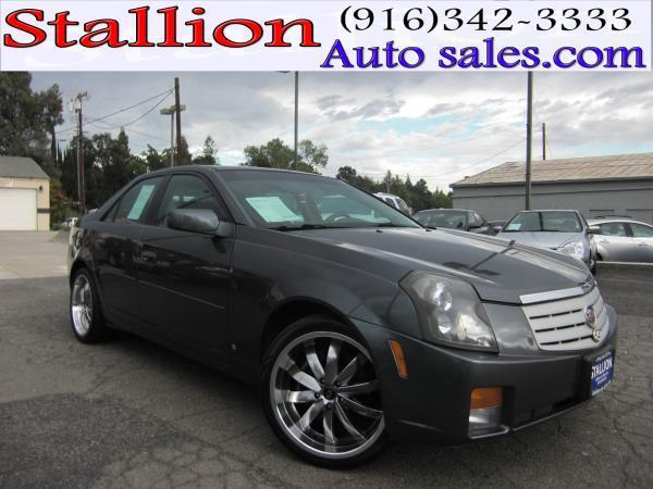 2007 cadillac cts for sale in roseville ca. Black Bedroom Furniture Sets. Home Design Ideas