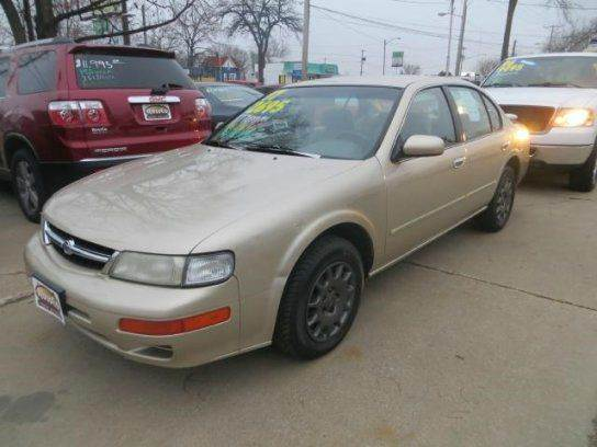 1997 nissan maxima for sale in cedar rapids ia. Black Bedroom Furniture Sets. Home Design Ideas