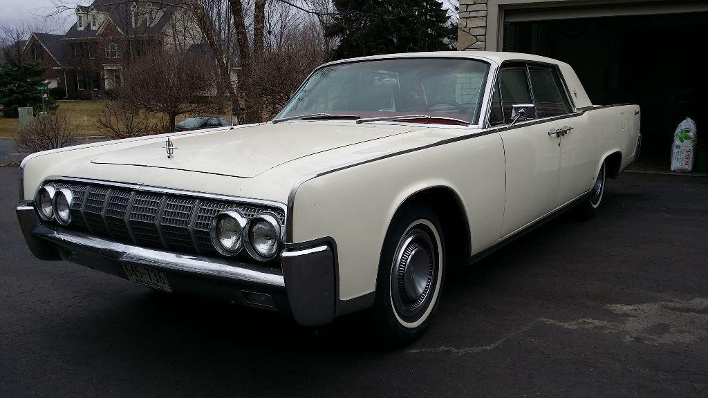 1964 lincoln continental for sale in annandale mn. Black Bedroom Furniture Sets. Home Design Ideas