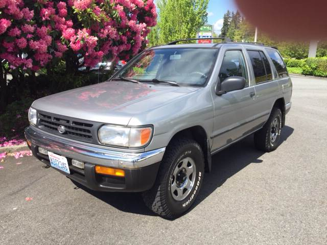 1998 nissan pathfinder for sale in shoreline wa. Black Bedroom Furniture Sets. Home Design Ideas