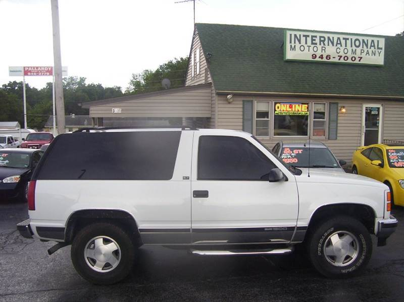 1996 gmc yukon for sale
