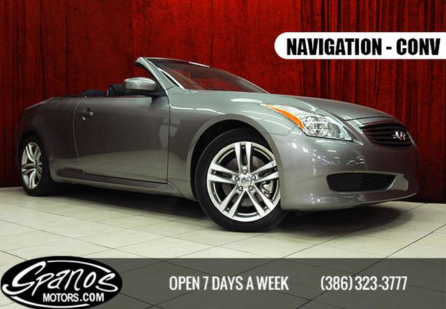 2009 infiniti g37 convertible for sale in daytona beach fl. Black Bedroom Furniture Sets. Home Design Ideas
