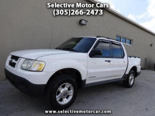 2001 ford explorer sport trac for sale for Selective motor cars miami