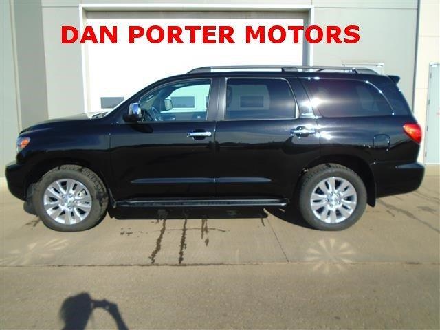 2013 toyota sequoia for sale for Dan porter motors dickinson