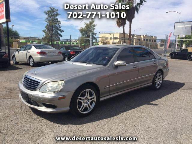 2006 mercedes benz s class for sale in las vegas nv for 2006 mercedes benz s500 for sale