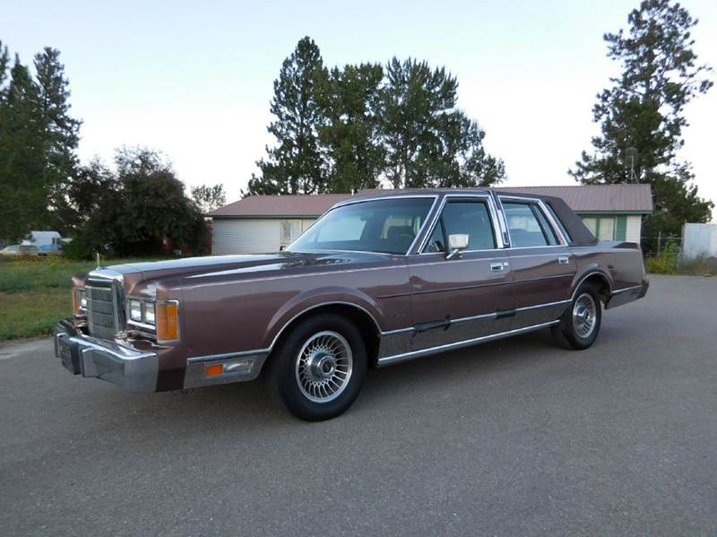 1989 lincoln town car for sale in el cajon ca. Black Bedroom Furniture Sets. Home Design Ideas