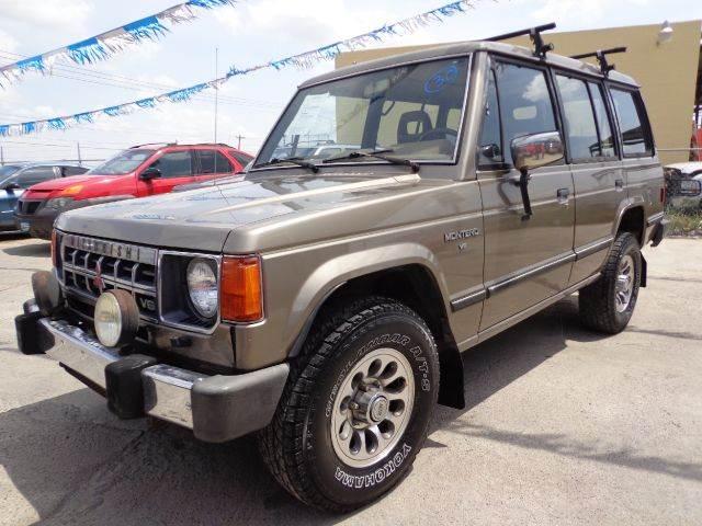 Montero 1989 1989 Mitsubishi Montero For