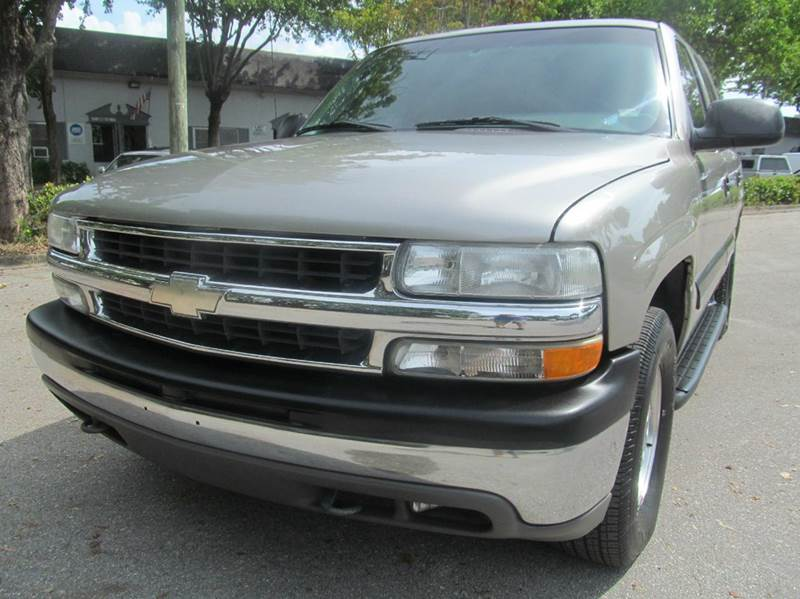 2001 chevrolet tahoe for sale in margate fl for Leonard perry motors nj
