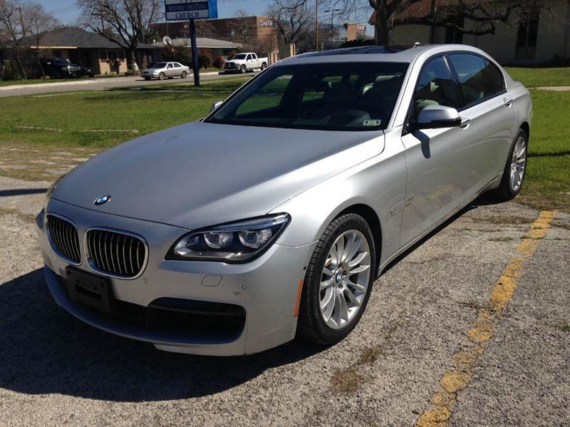 2014 bmw 7 series for sale in san antonio tx. Black Bedroom Furniture Sets. Home Design Ideas