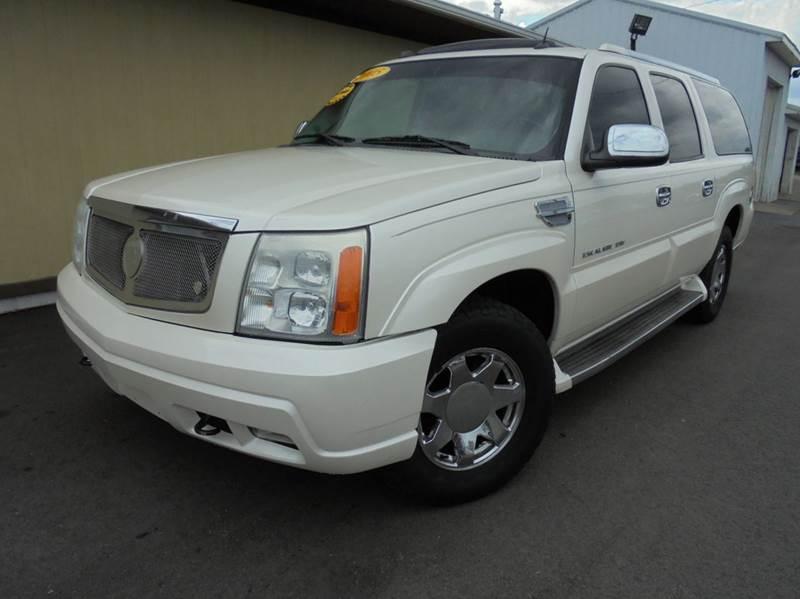 2005 Cadillac Escalade Esv For Sale