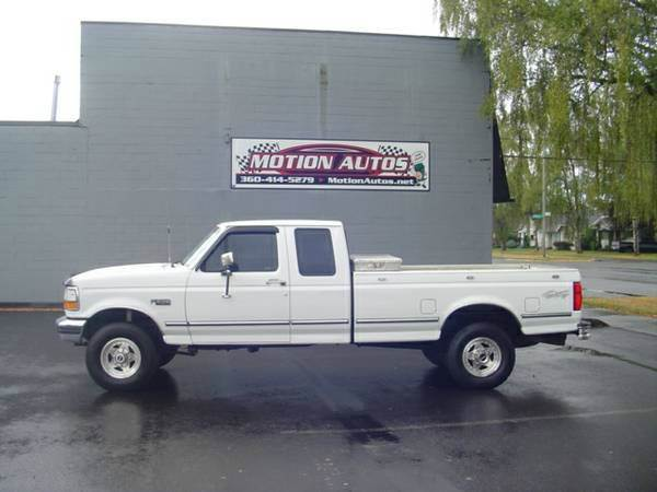 used ford trucks for sale in longview wa. Black Bedroom Furniture Sets. Home Design Ideas
