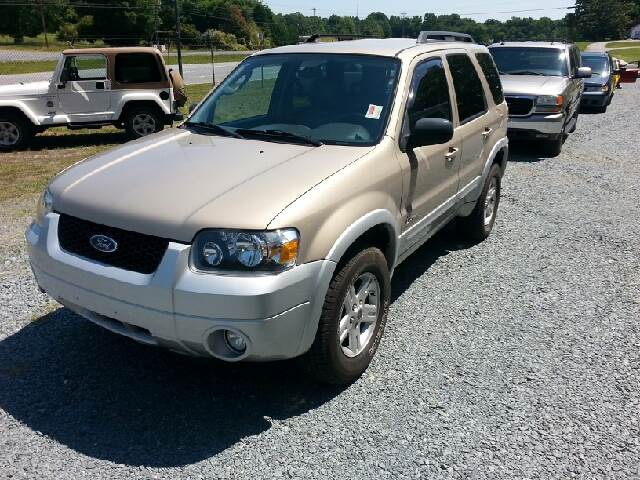 2007 ford escape hybrid for sale in marshville nc. Cars Review. Best American Auto & Cars Review