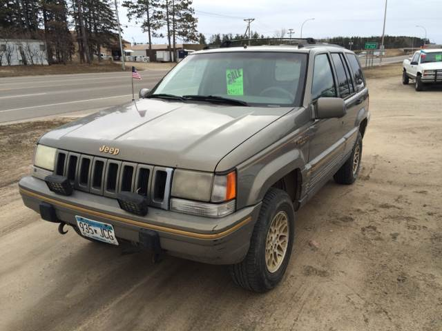 1995 jeep grand cherokee for sale in bemidji mn. Black Bedroom Furniture Sets. Home Design Ideas
