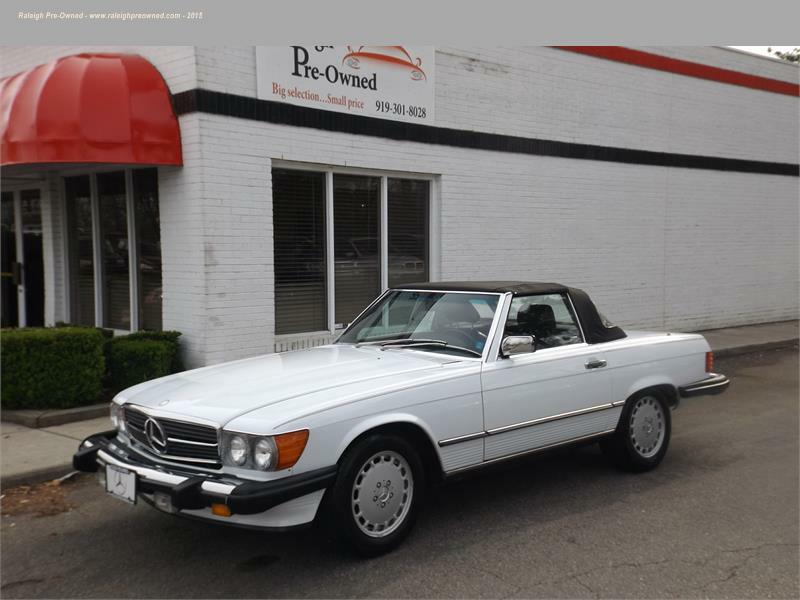 Mercedes benz 560 class for sale in north carolina for Mercedes benz for sale in raleigh nc