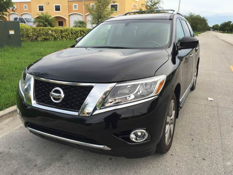 2013 nissan pathfinder for sale in miami fl. Black Bedroom Furniture Sets. Home Design Ideas