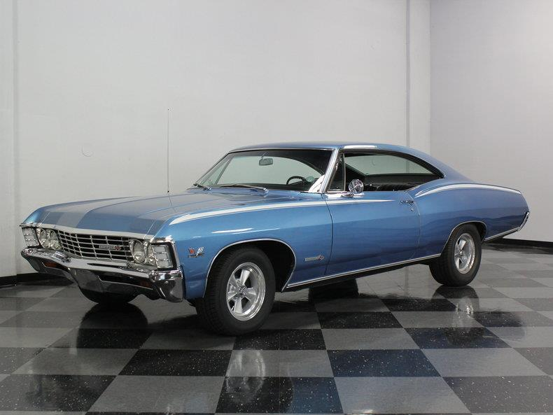 used 1967 chevy impala hardtop super sport for sale. Black Bedroom Furniture Sets. Home Design Ideas