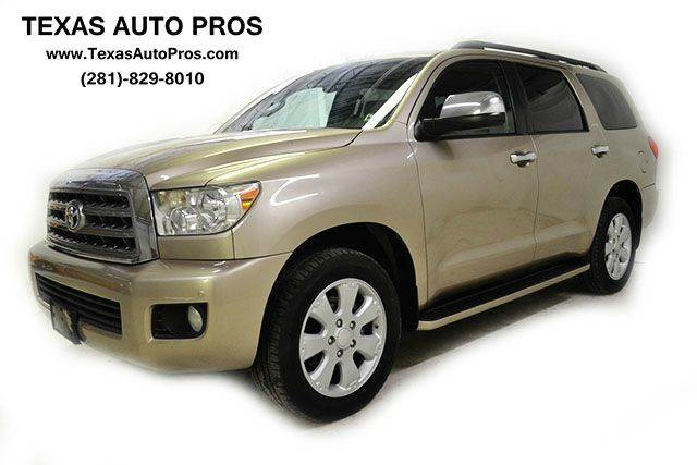 2008 toyota sequoia for sale in houston tx. Black Bedroom Furniture Sets. Home Design Ideas