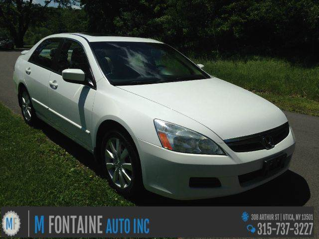 2006 honda accord for sale in utica ny. Black Bedroom Furniture Sets. Home Design Ideas