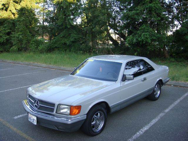 1985 mercedes benz 500 class for sale for Lynnwood mercedes benz