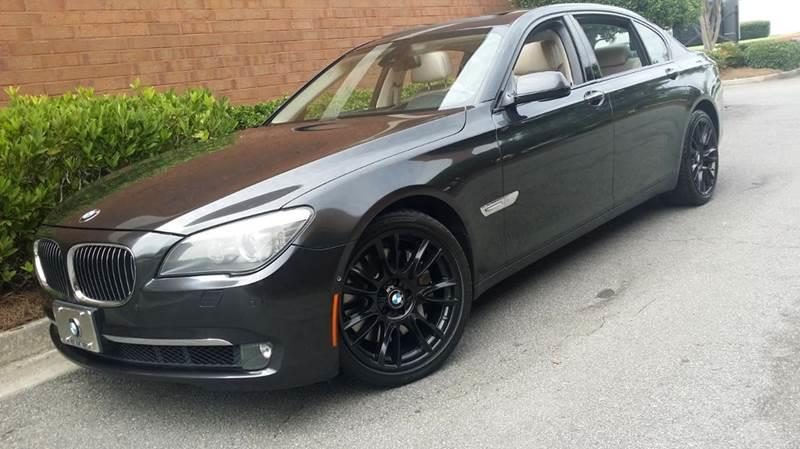 2009 bmw 7 series for sale in atlanta ga. Black Bedroom Furniture Sets. Home Design Ideas