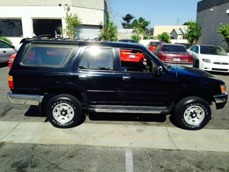 1995 toyota 4runner for sale in upland ca. Black Bedroom Furniture Sets. Home Design Ideas