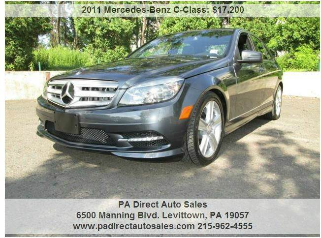 Mercedes benz for sale in levittown pa for Mercedes benz for sale in pa