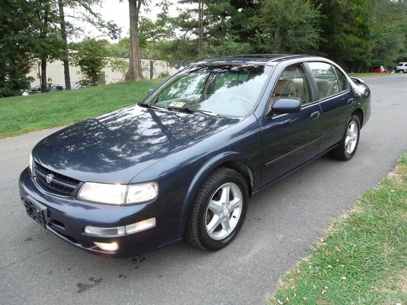 1997 nissan maxima for sale in leesburg va. Black Bedroom Furniture Sets. Home Design Ideas