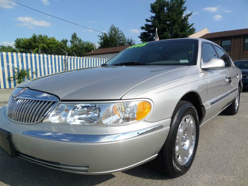 2002 lincoln continental for sale for Car city motors louisville ky