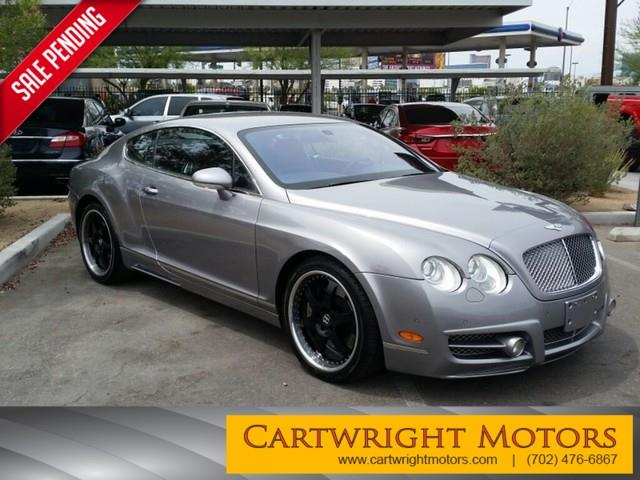 2006 bentley continental gt for sale for Cartwright motors las vegas nv
