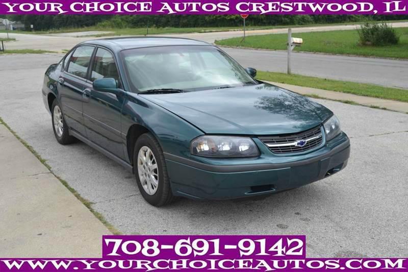 2001 chevrolet impala for sale in crestwood il. Black Bedroom Furniture Sets. Home Design Ideas