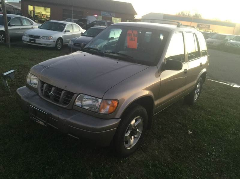 2001 kia sportage for sale for Boulevard motors of inver grove heights