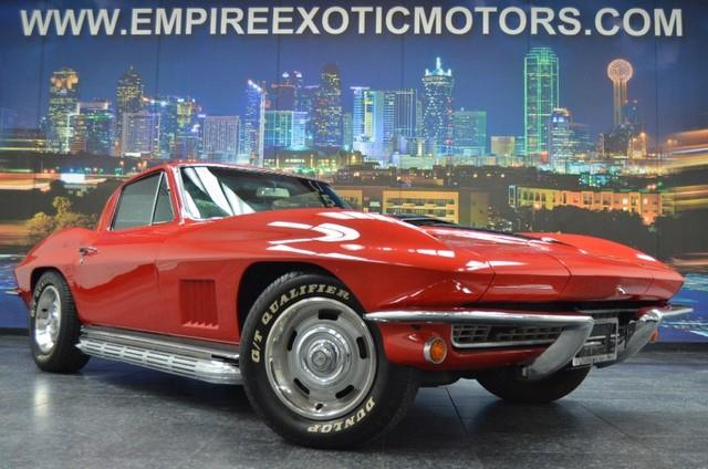 1967 Chevrolet Corvette For Sale In Addison Tx