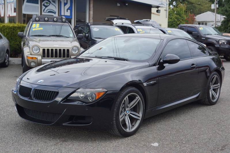 2006 bmw m6 for sale in seattle wa. Black Bedroom Furniture Sets. Home Design Ideas