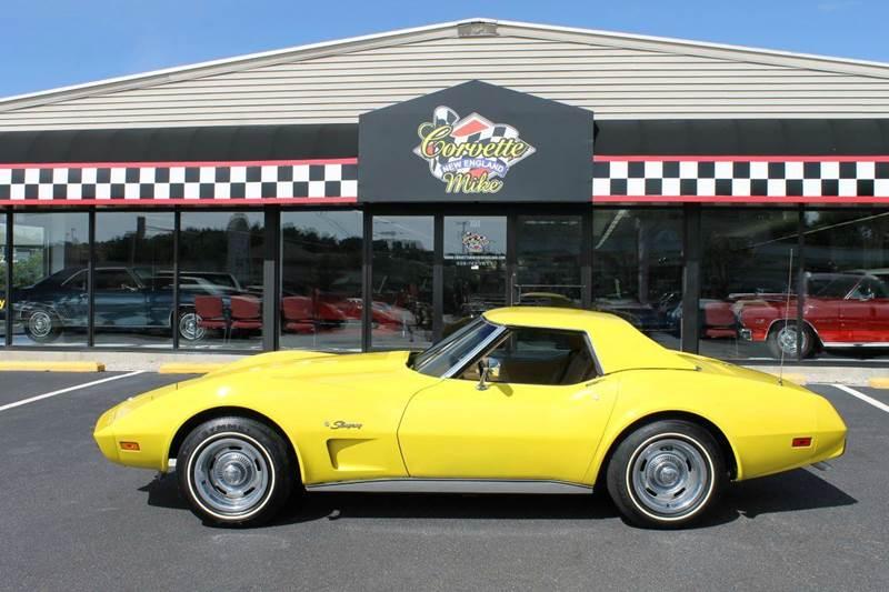 Corvette Mike New England >> 1975 Chevrolet Corvette for sale - Carsforsale.com