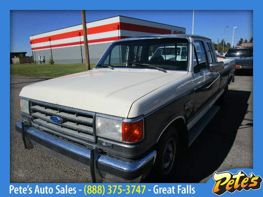 Petes Auto Sales >> 1989 Ford F-150 for sale in Great Falls, MT