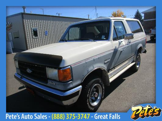 1989 Ford Bronco For Sale In Great Falls Mt