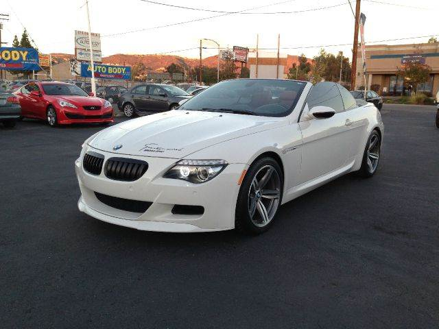 2008 bmw m6 for sale in el cajon ca. Black Bedroom Furniture Sets. Home Design Ideas