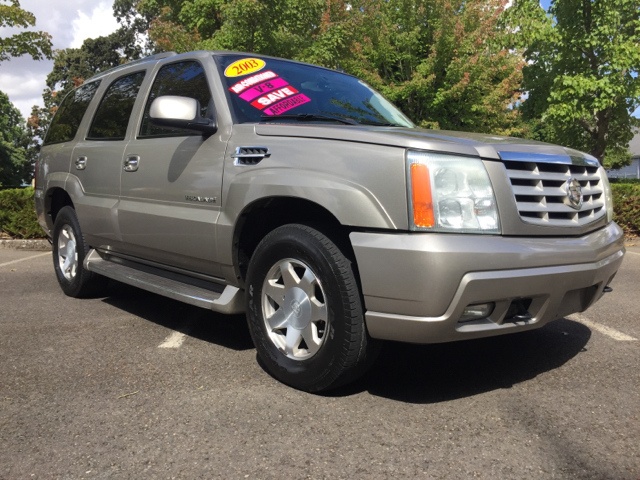 2003 cadillac escalade for sale in brooks or. Black Bedroom Furniture Sets. Home Design Ideas