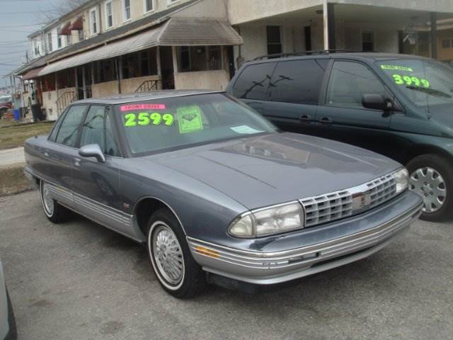 1991 oldsmobile ninety eight for sale in norristown pa. Black Bedroom Furniture Sets. Home Design Ideas
