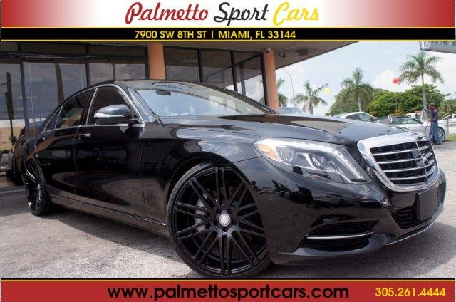 2014 mercedes benz s class for sale for Mercedes benz for sale miami