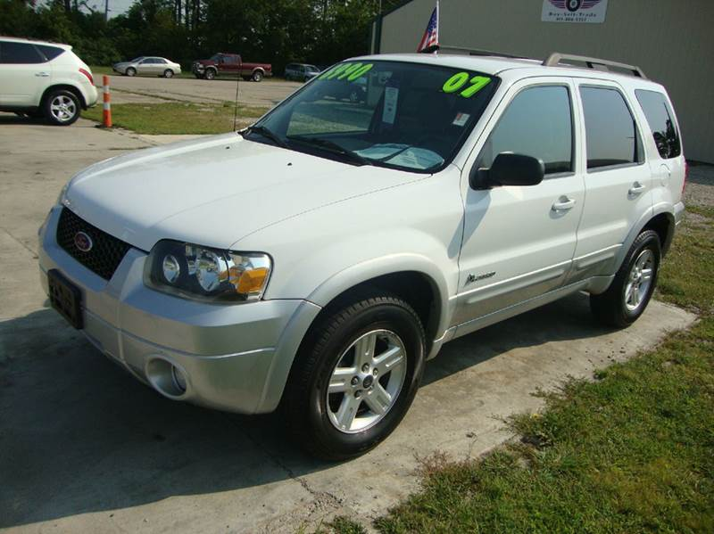 2007 ford escape hybrid 4dr suv used 2007 ford escape hybrid for sale. Cars Review. Best American Auto & Cars Review