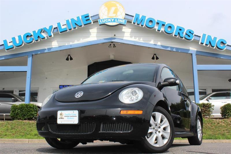 2009 volkswagen new beetle for sale in fredericksburg va. Black Bedroom Furniture Sets. Home Design Ideas