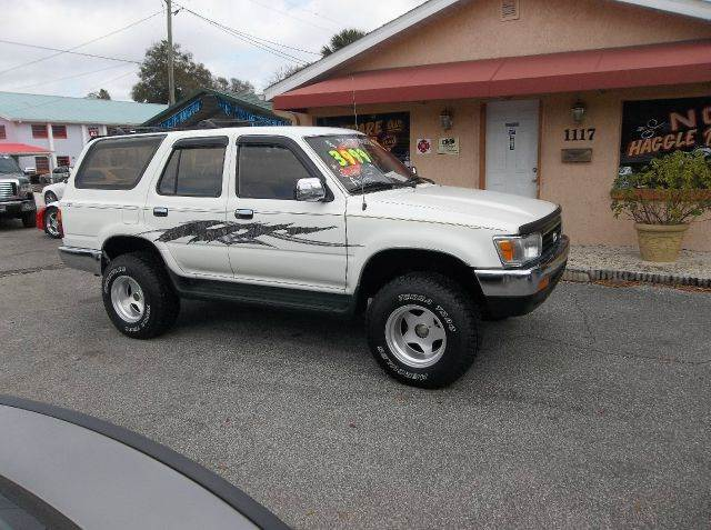 1995 toyota 4runner for sale in deland fl. Black Bedroom Furniture Sets. Home Design Ideas