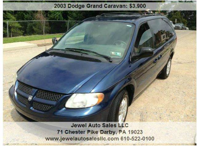 2003 dodge grand caravan for sale in darby pa. Black Bedroom Furniture Sets. Home Design Ideas