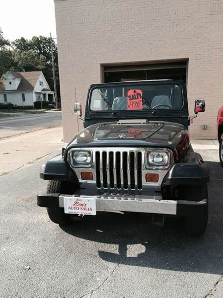 1994 jeep wrangler for sale in springfield il. Black Bedroom Furniture Sets. Home Design Ideas